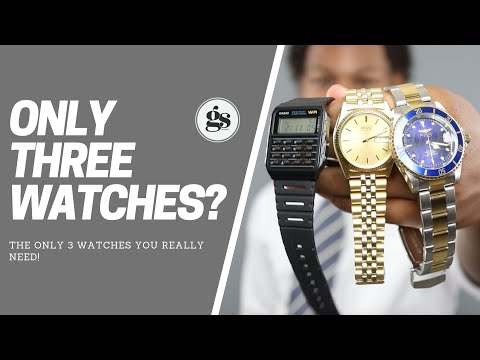 The Only 3 Watches You Really Need! | Affordable Watch Collection For Men
