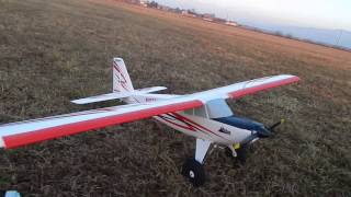 e flite timber max low high speed test