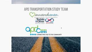 APD Transportation Study - Executive Steering Committee Meeting November 16, 2018