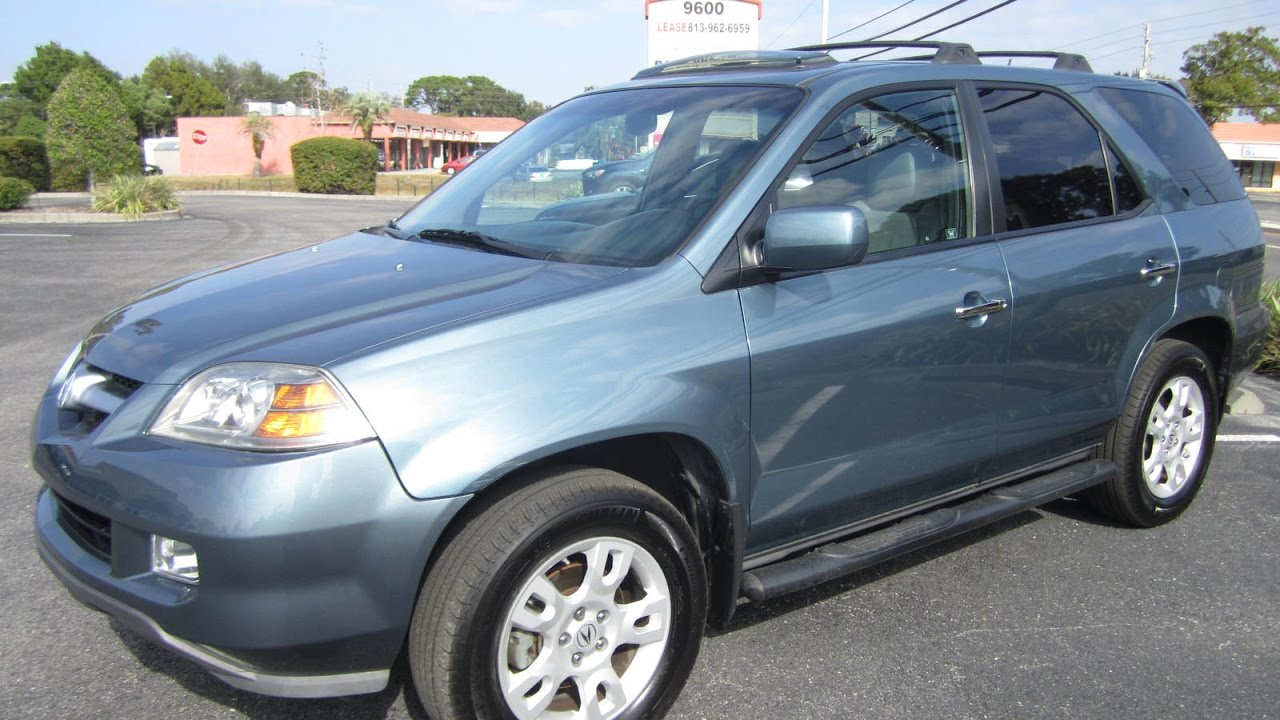 SOLD Acura MDX Touring One Owner Meticulous Motors Inc Florida - Acura mdx 2005 for sale
