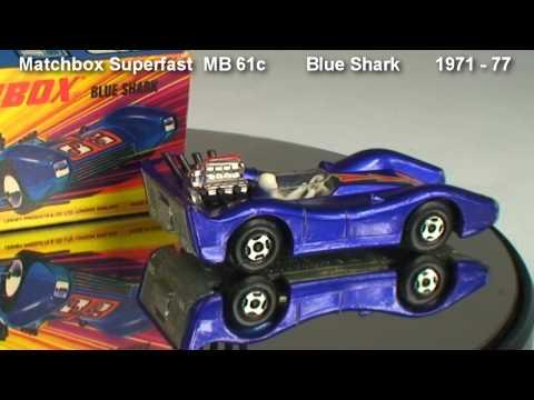 Blue Shark  Matchbox Superfast  MB 61c   1971- 77  I Box