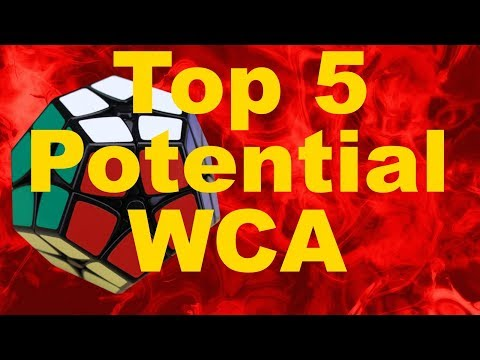 My Top 5 Events to Add to the WCA