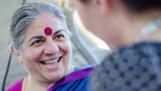 A Narrative of Love: Dr. Vandana Shiva on planting SEEDS OF LOVE.
