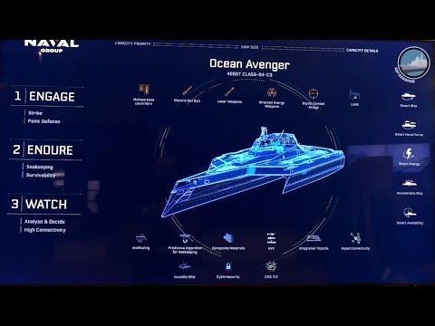 Naval Group Latest Innovations at Euronaval 2018