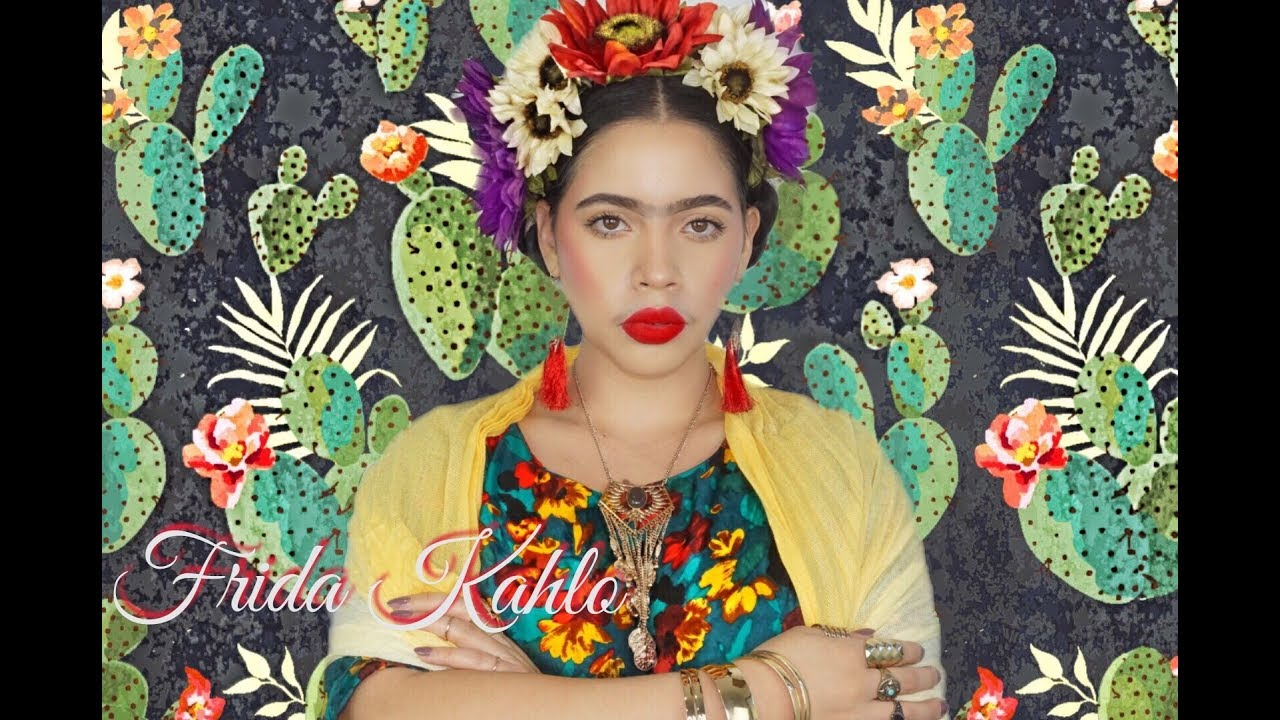 Frida Kahlo Halloween Makeup And Costume Look