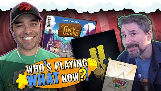 Who's Playing What Now?! + Top 10 Popular Board Games August 2019