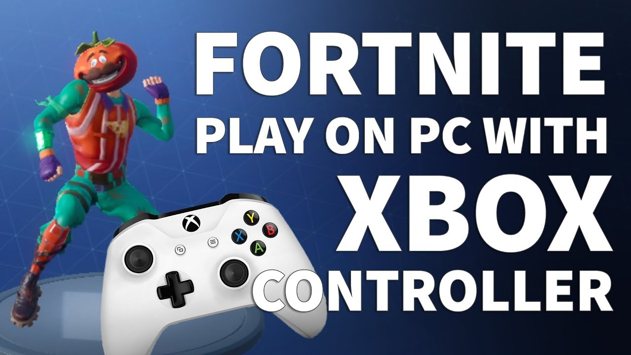 how to use xbox controller to play fortnite on pc play fortnite battle royale with xbox controller - fortnite pc mit controller