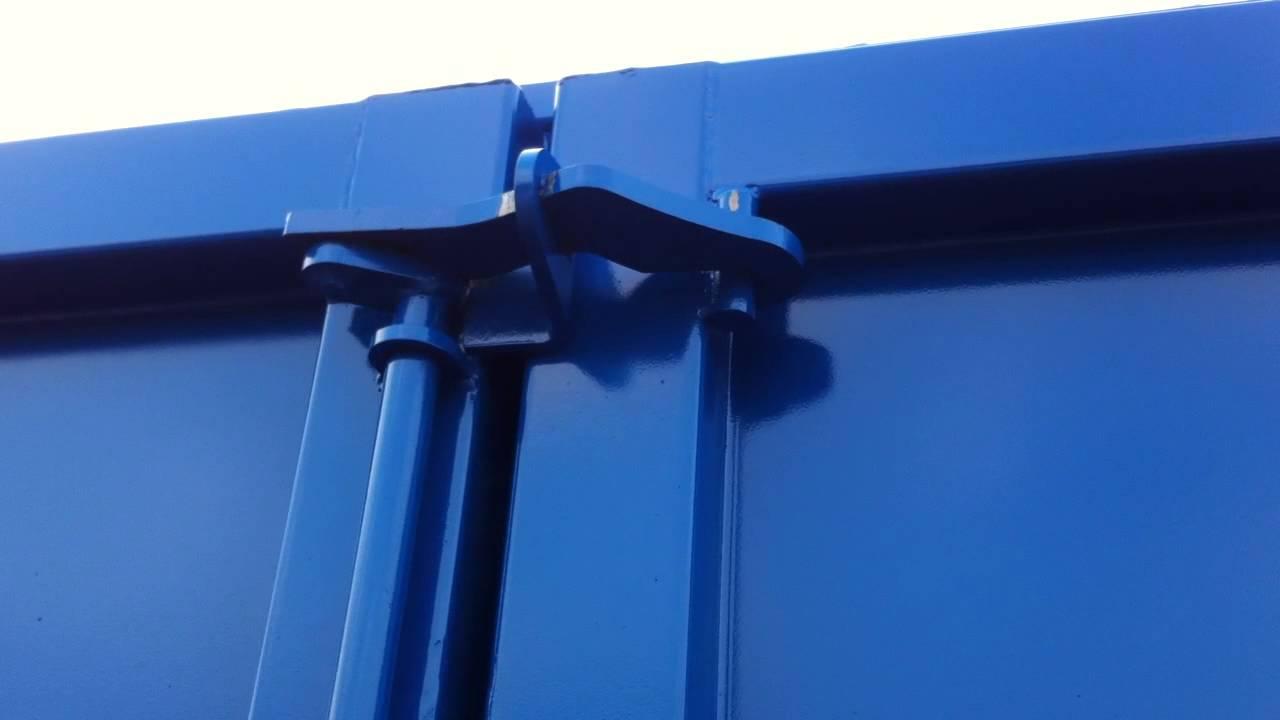 Systeme de fermeture porte 2 vantaux youtube for Systeme verrouillage porte garage