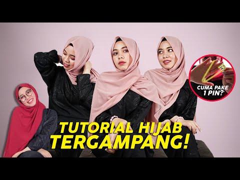 Cara Memakai Hijab Pashmina Ala Fatin Bisabo Channel
