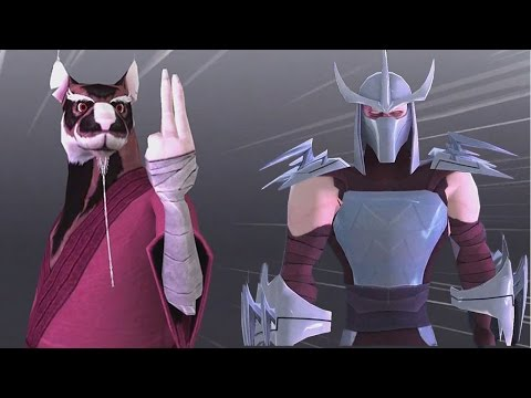 TMNT Legends: Master Splinter VS Shredder