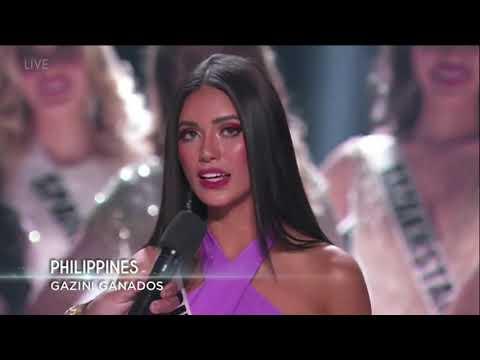 Miss Philippines Gazini Ganados' Full Performance   Miss Universe 2019