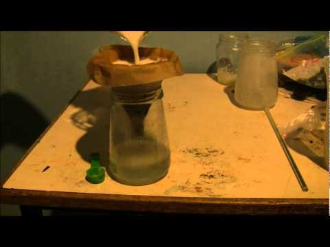 How To Make Sodium Nitrate (Mg(NO3)2 And NaHCO3)