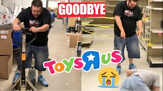 GOODBYE FOREVER TOYSRUS (EMOTIONAL) WE GOT IN TROUBLE