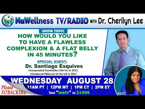 FLAWLESS COMPLEXION & A FLAT BELLY IN 45 MINUTES? - Dr. Santiago Esquives
