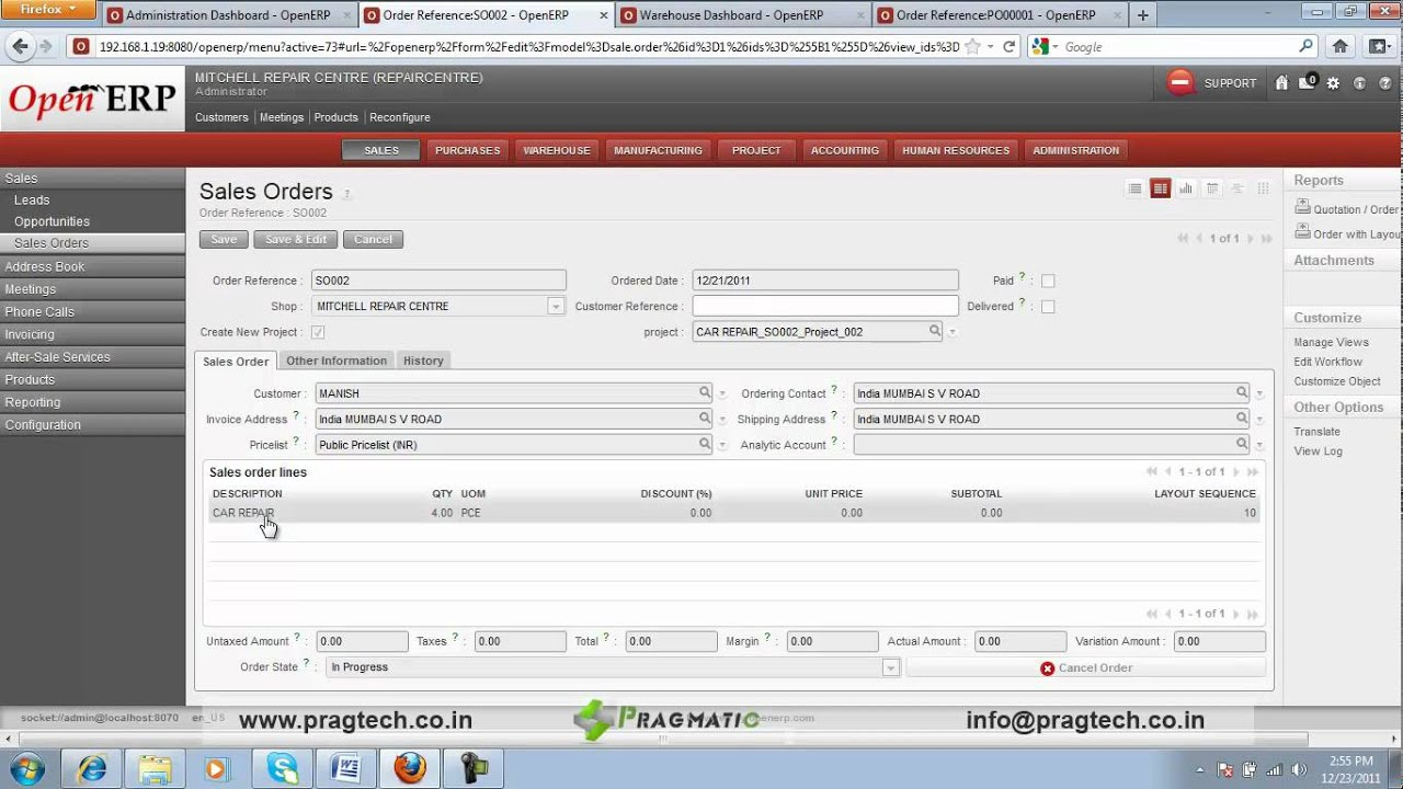 Working With Openerp Pdf