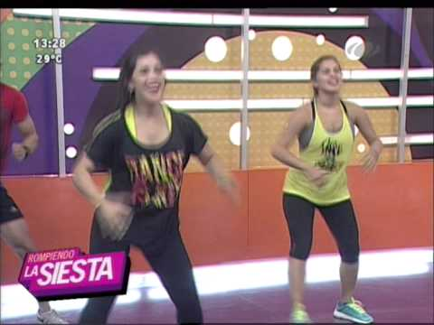 ¡Hoy bailamos Zumba con la profe Rossana Fleitas!. 26-08-2015