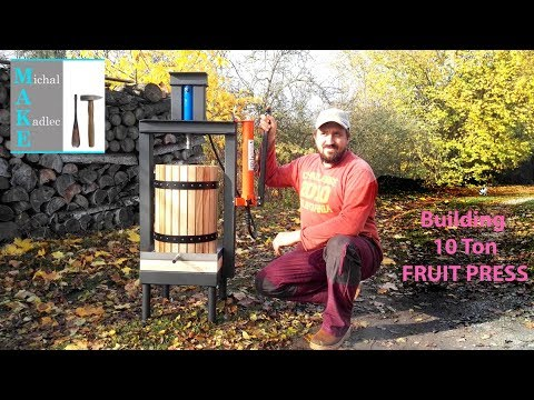 Building 10 Ton Fruit Press