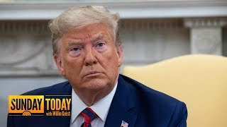 President Trump On Defense After Whistleblower Complaint | Sunday TODAY