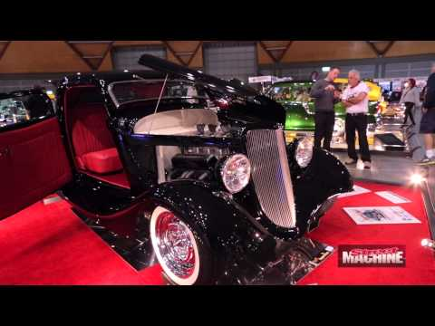 Peter Fitzpatrick's '34 coupe at Meguiar's MotorEx