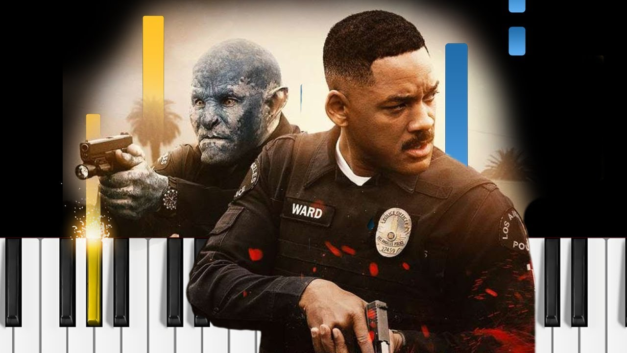 bastille world gone mad piano tutorial from bright the album netflix bright soundtrack