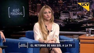 """Algo Personal (29-09-2015) - Ana Sol Romero y su vuelta a la TV en """"Mujer Glam"""""""