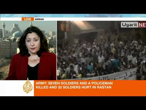 Al Jazeera's Jane Arraf reports on the Syria latest