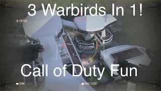 3 Warbirds in 1 Game! Call of Duty: Advanced Warfare (Hardpoint Multiplayer Gameplay)