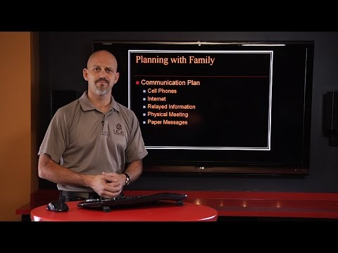 Family Safety Plan: Communication  |  Personal Defense Network