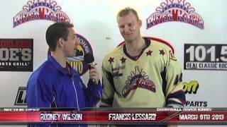 The Best Hockey Fight Ever Francis Lessard Interview about His Viral Video