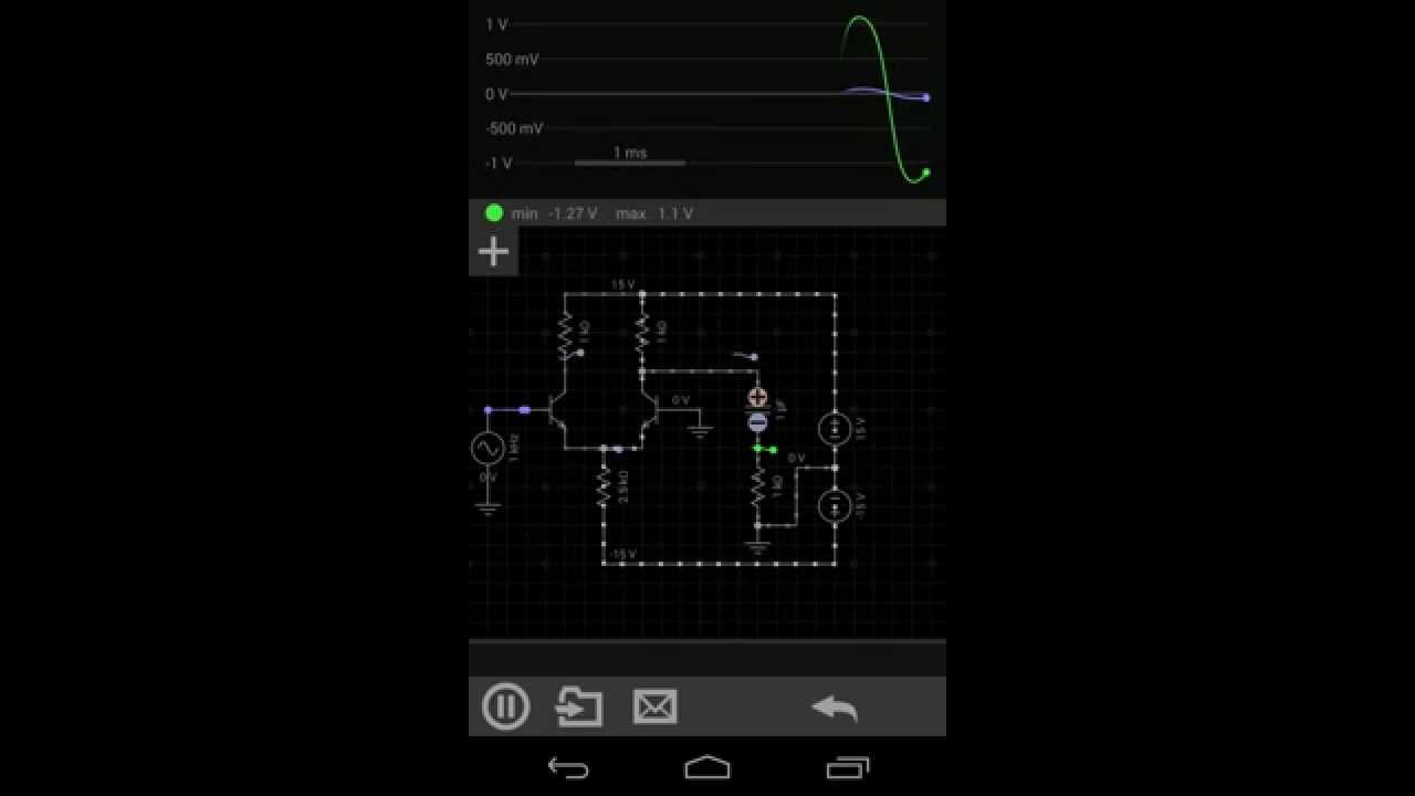 Build Simulate Save Share Circuits On Android With Everycircuit Simple Electronic Lock Uses Singletransistor Circuit Analog Content Youtube