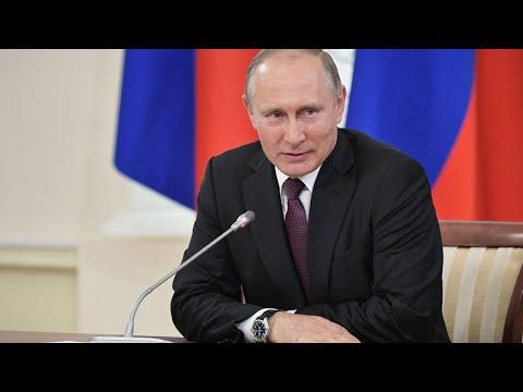 Путин обращается к народу по поводу пандемии коронавируса