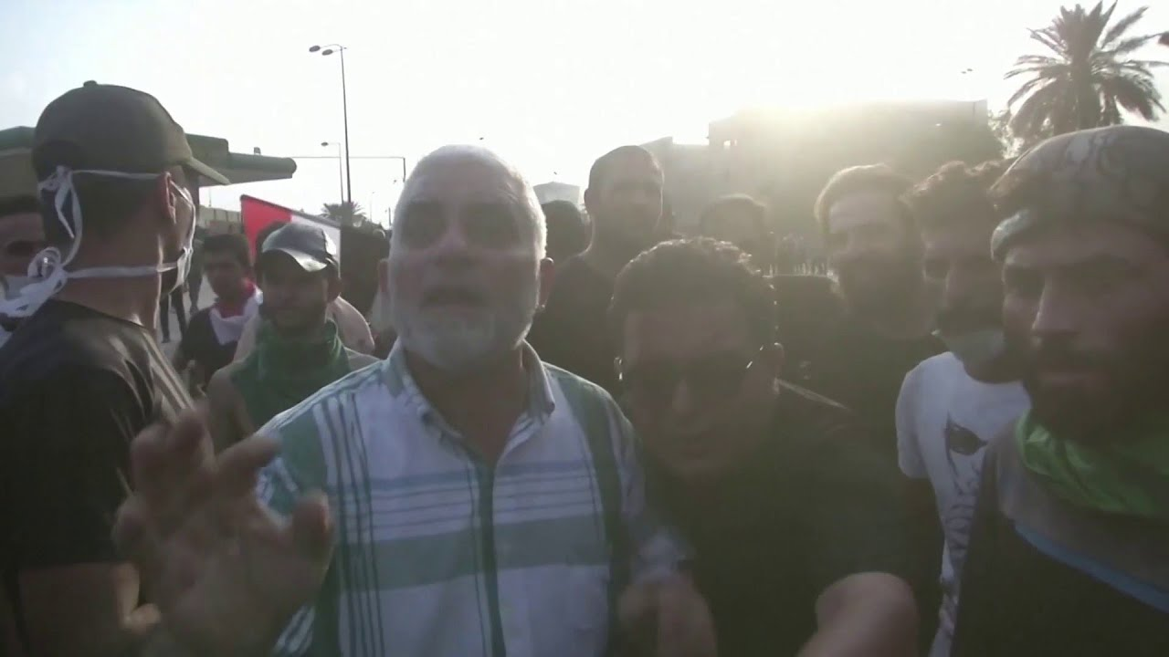 العراق: إطلاق النار لتفريق مظاهرات بغداد