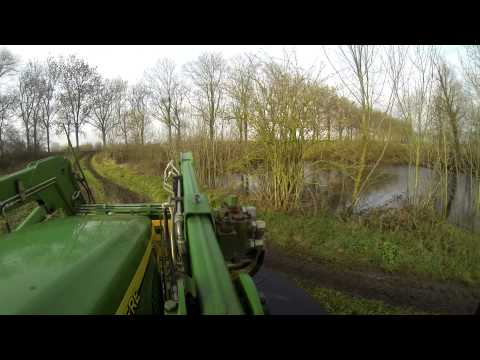 John Deere 6320 Frontloader and Joskin 12000cc Farming Onboard GoPro Hero 3