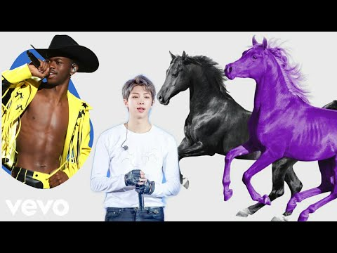 Lil Nas X - Old Town Road (Seoul Town Road Remix) Feat. RM Of BTS [Music Video]
