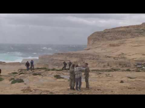 Collapsed of Azure Window - Dwejra - 08.03.2017 - Gozo, Malta