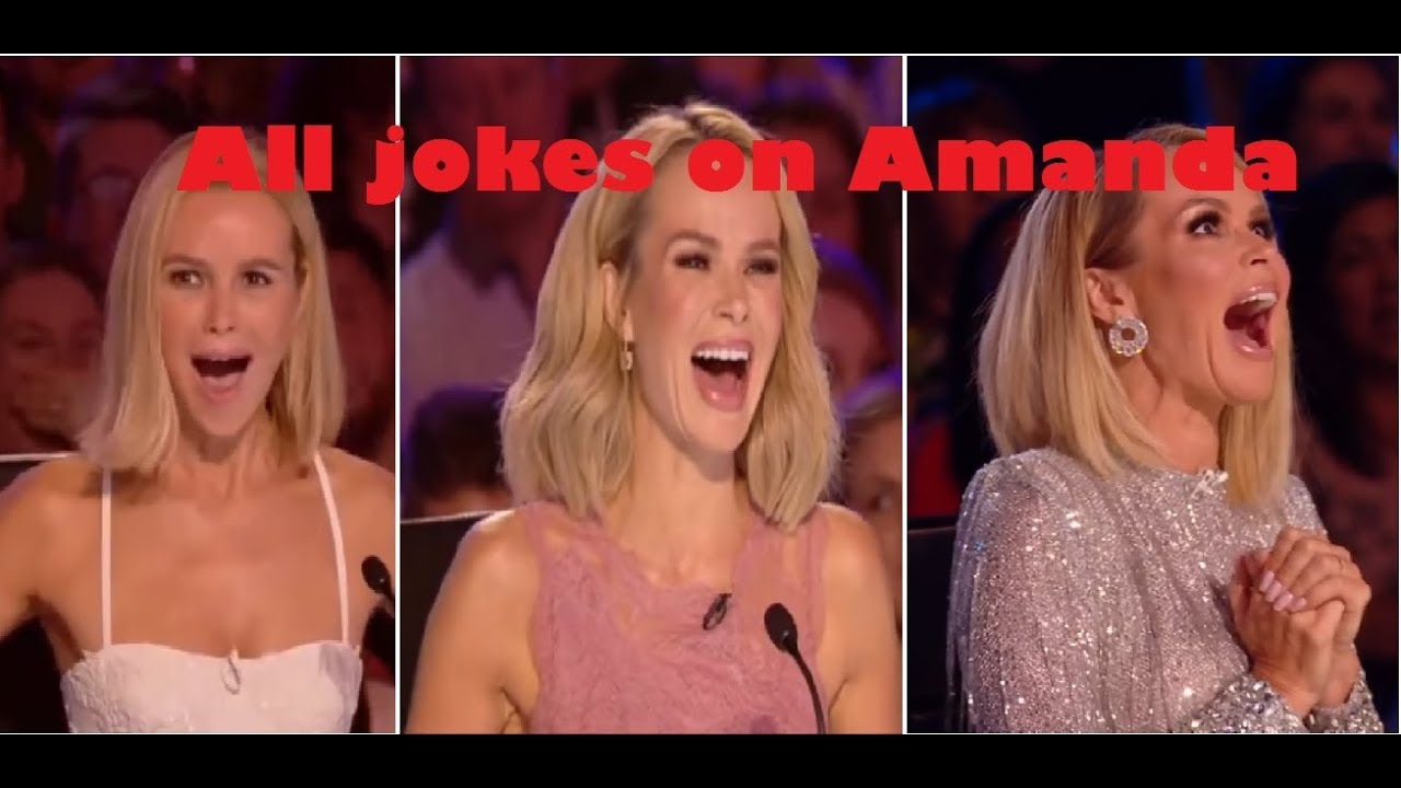 Britain S Got Talent All Jokes On Amanda Holden All