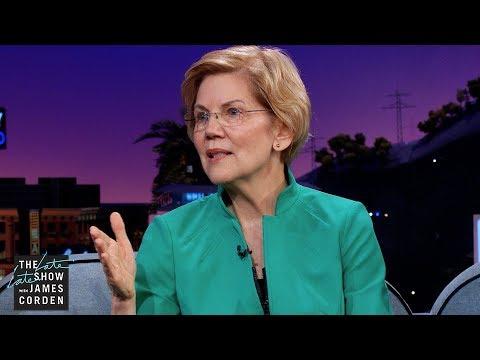 Elizabeth Warren Reacts to Fellow Democratic Presidential Candidates