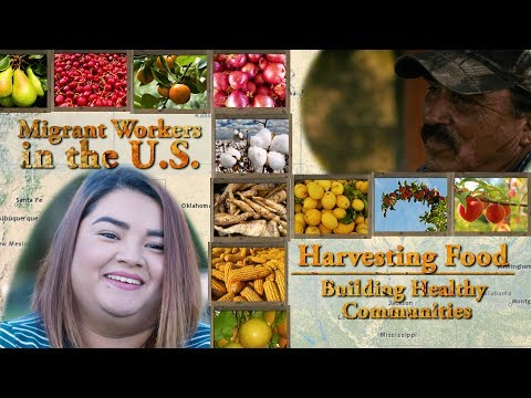 Migrant Workers in the U.S.: Harvesting Food, Building Healthy Communities