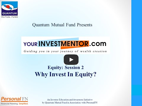 Why invest in equity