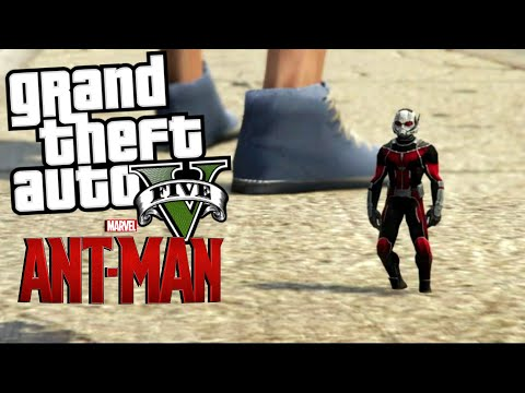 Antman Mod   GTA 5 Mod Moment Lucu (Bahasa Indonesia)