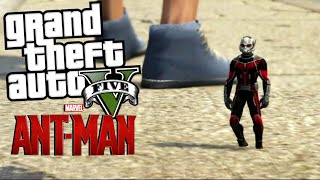 Antman Mod | GTA 5 Mod Moment Lucu (Bahasa Indonesia)