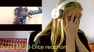 CRAZY SOLO! Band-Maid-Dice reaction