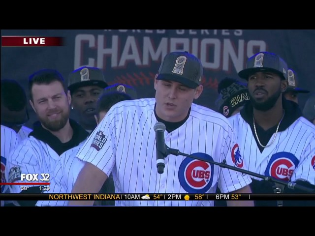 Teary-eyed Rizzo honors retiring Ross at rally
