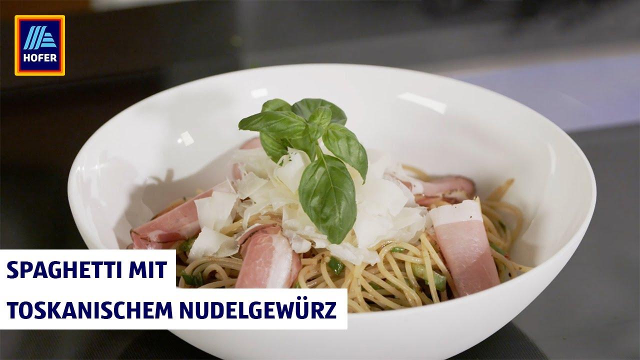 Kochen Mit Schuhbeck Spaghetti Mit Toskanischem Nudelgewürz