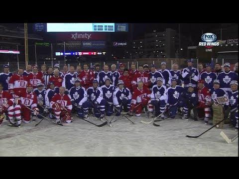 Toronto Maple Leafs vs Detroit Red Wings Alumni Showdown - Full (Games 1 & 2 w/intermission)