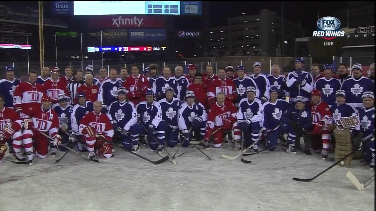 Toronto Maple Leafs Vs Detroit Red Wings Alumni Showdown Full