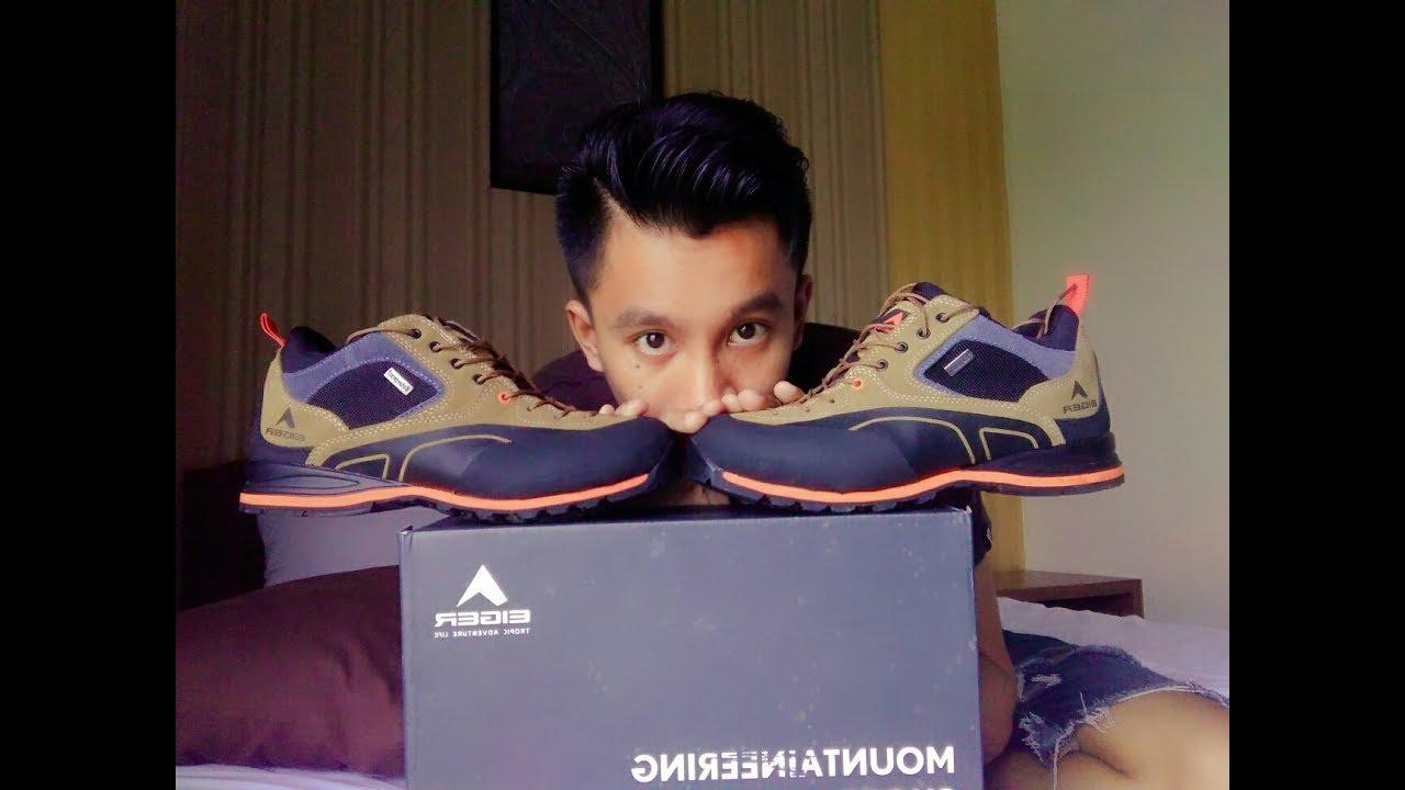 EIGER Shoes Anaconda Vibran - Brown (Sepatu Eiger Anaconda)   Unboxing  Review 414be4fc4f