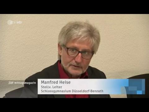 ZDF befragt Schloß-Gymnasium zur Bildungspolitik