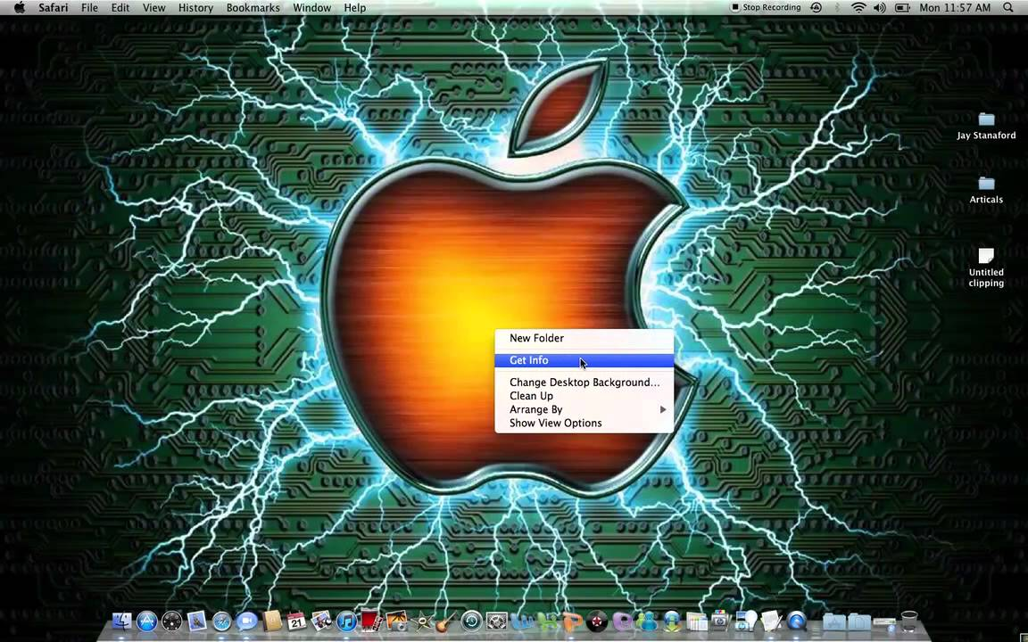 how to change your wallpaper on you macbook pro - YouTube