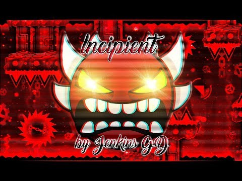 [LIVE] Incipient by Jenkins GD (Overrated Extreme Demon) | Geometry Dash [2.14]